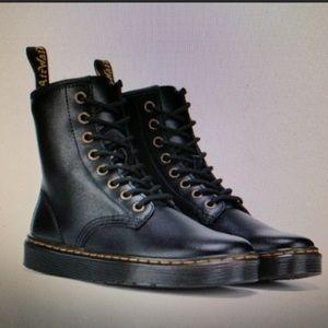 WOMENS DR MARTENS COMBAT BOOTS. SIZE 8 BLACK NEW